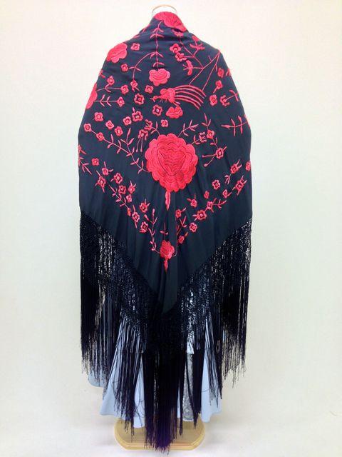 【RPK-2-13】黒×赤刺繍