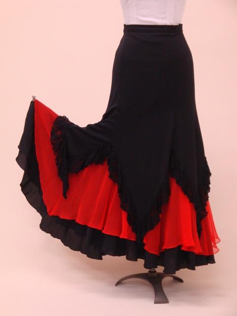 ☆【RSK-3】スクエアカット カラフル6色スカート