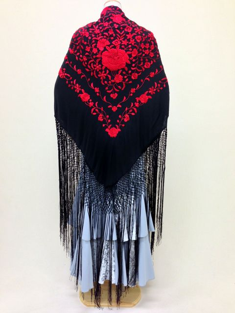 【RPK-2-27】黒×赤刺繍