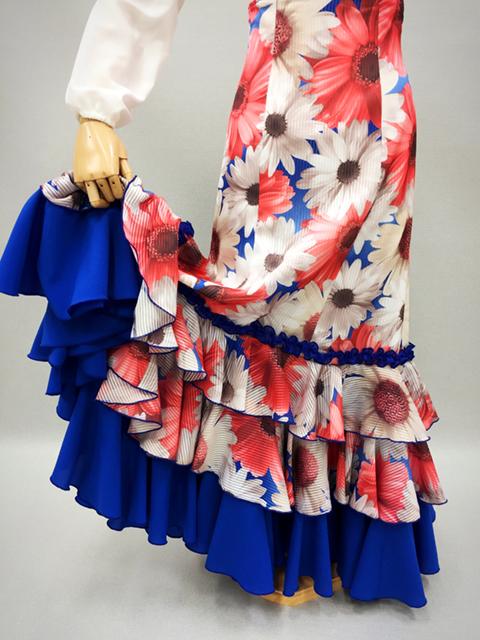 【RSK-76-1】花柄スカート